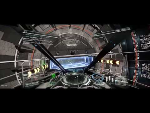 Field of View of the E:D Ships in Ultrawide resolution