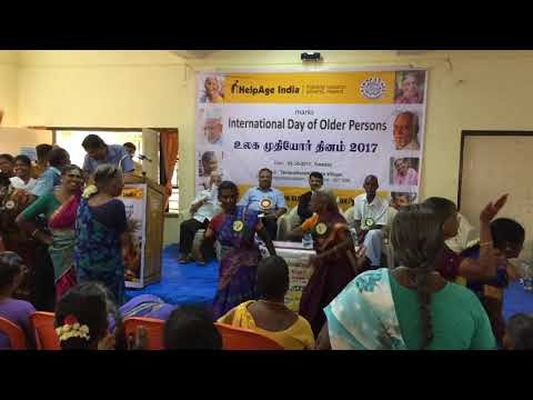 Dance Show by Senior Citizens on the Observance of International Day of Older Persons on 3-10-18
