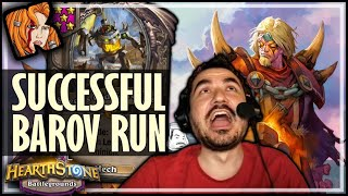 FINALLY A GOOD LORD BAROV RUN! - Hearthstone Battlegrounds