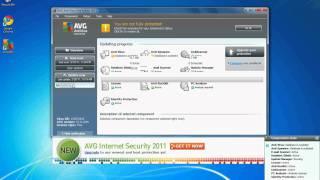 Installing AVG Antivirus on Windows 7.avi