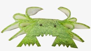 Video 2017 Art In Cucumber Crab - Food , Vegetable Carving Garnish | Party Food Decoration download MP3, 3GP, MP4, WEBM, AVI, FLV September 2017