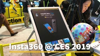 Insta360 One X at CES 2019