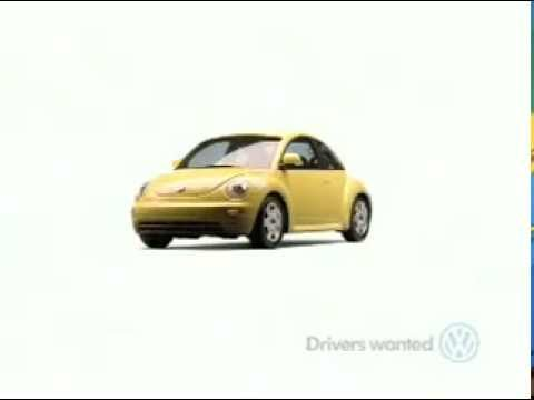 1998 New Beetle Commercial What Color Do You Dream In