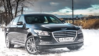 Тестдрайв Hyundai Genesis он же G80 , 3.0 V6, 2016my