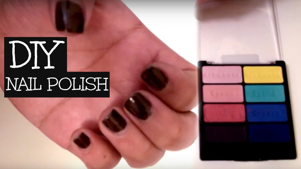 Nail Polish Out Of Eyeshadow - Creative Touch