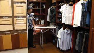 Closet Pull & Swivel Ironing Board Thumbnail