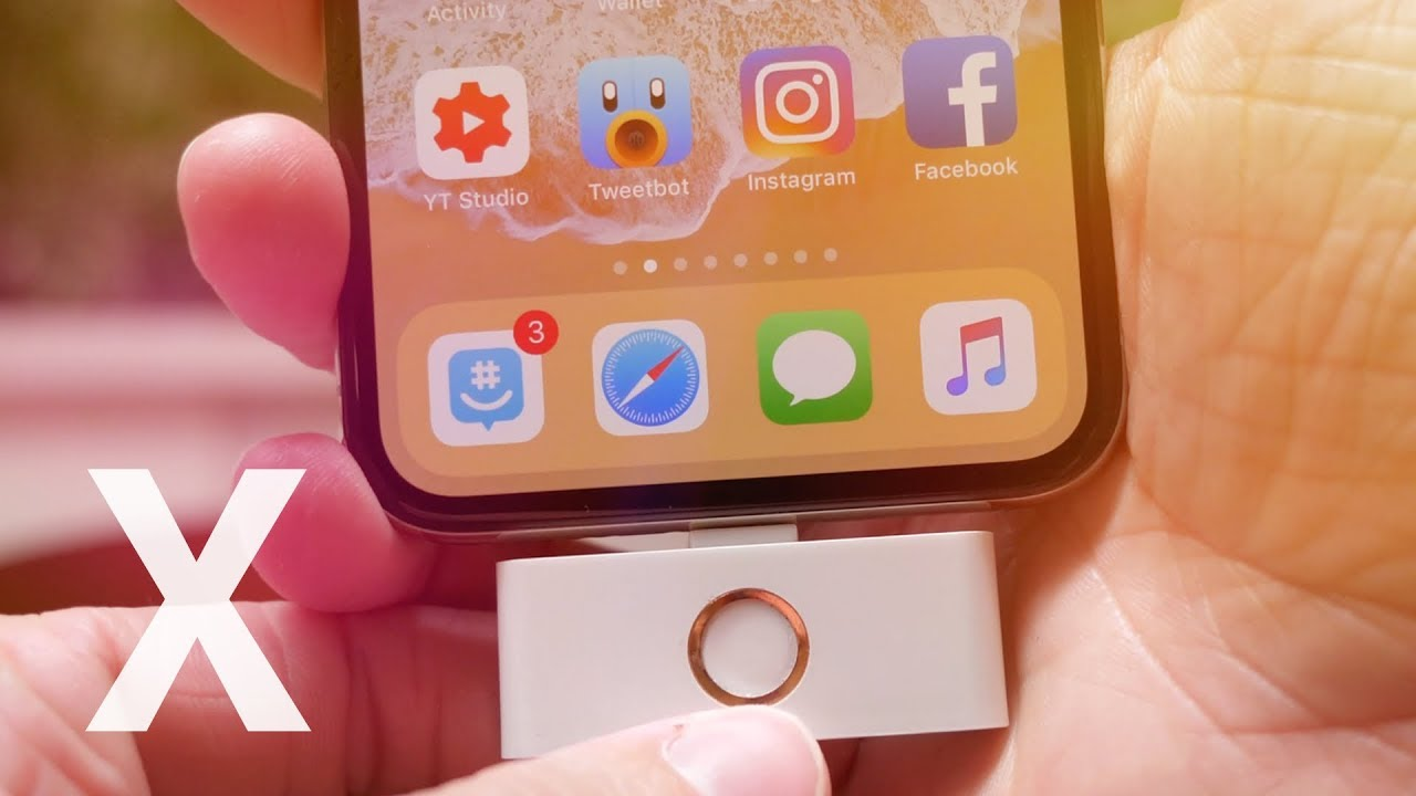 low priced 079b6 d1049 iPhone X Home Button Adapter!