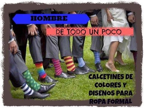 Calcetines de colores y disenos para ropa formal para for Ropa de diseno online