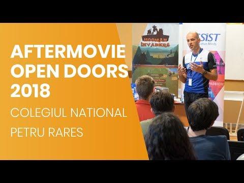 """Open Doors ASSIST - Școala Altfel - Colegiul Național """"Petru Rareș"""" Suceava   Aftermovie"""