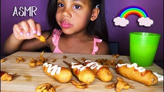 ASMR CORNDOGS┃REQUESTED EATING SOUNDS┃먹방 FRANCE