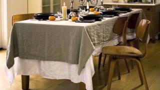 Rough Linen ™ Tableware presented by Tricia