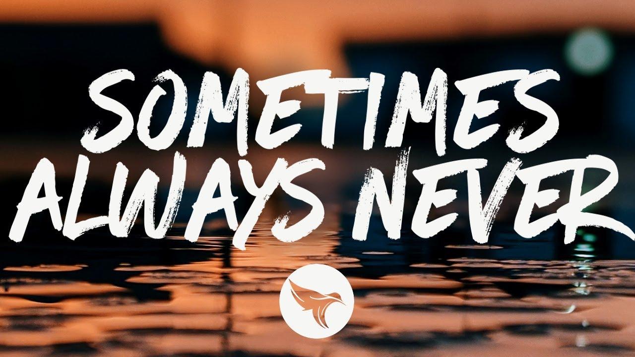 Brandon Ratcliff - Sometimes Always Never (Lyrics)