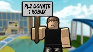 i tried begging for robux... then this happened... 😢