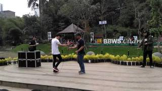 Vasco vs dipo (BANDUNG BEATBOX BATTLE X 100 BIT'S)