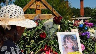 Жанну Фриске похоронили на Николо-Архангельском кладбище / Funeral Zhanna Friske