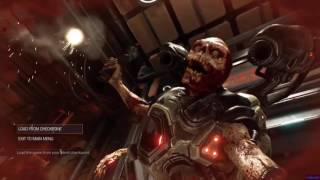 DOOM 2016 - ALL Player Deaths | Player Deaths Cinematics | FULL HD