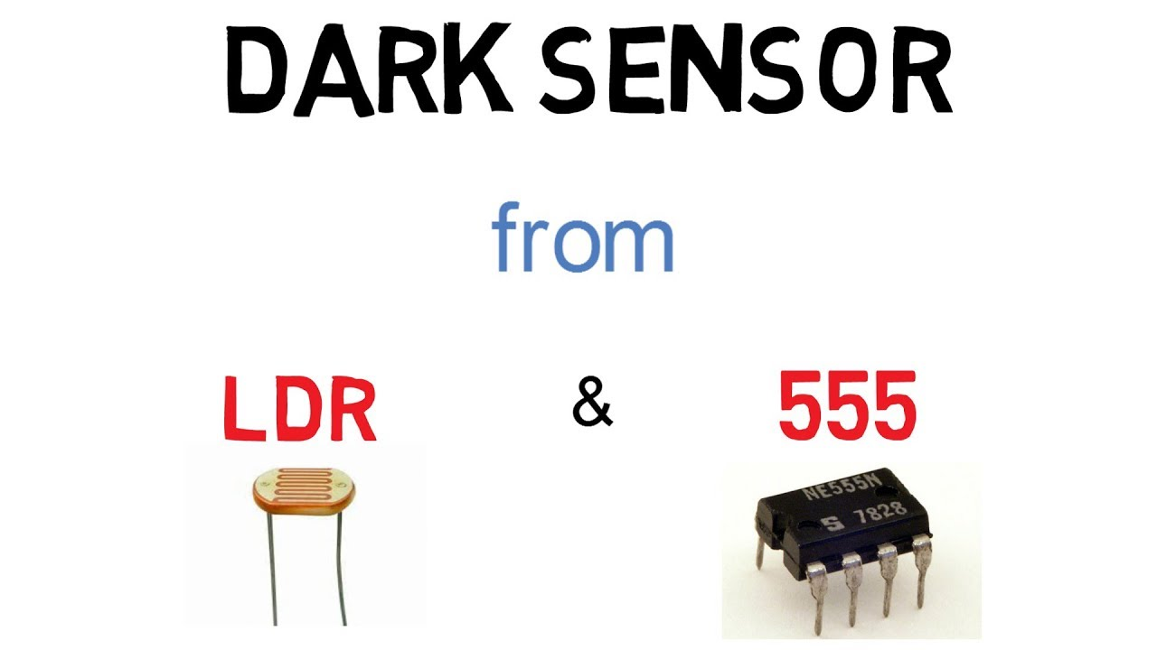 How To Make A Dark Sensor Using Ldr And 555 Timer