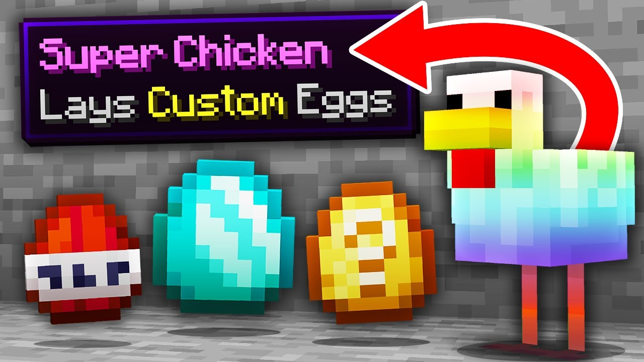 Minecraft, But There Are Custom Eggs...