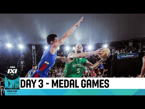 Live 🔴 - FIBA 3x3 Asia Cup 2018 - Day 3 - Medal Games
