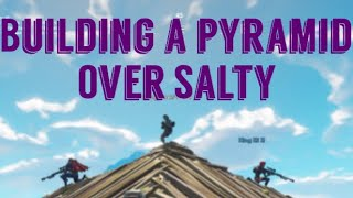 Building a Pyramid over Salty Springs| Jk4745