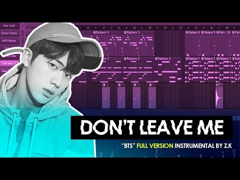 BTS - Don't Leave Me Instrumental (FL Studio Remake)
