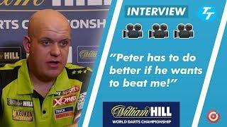 Michael van Gerwen has HARSH WORDS for Peter Wright ahead of WOrld Championship final