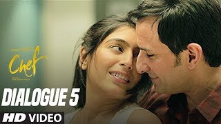 Nothing Is Personal Now A Days:  Chef (Dialogue Promo 5) | Saif Ali Khan | Padmapriya