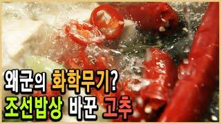 KBS 역사스페셜 – 밥상의 혁명, 독초 고추의 변신