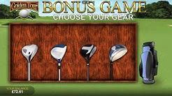 Golden Tour Bonus Game on online casino