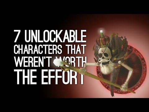 7 Unlockable Characters That Weren't Worth the Effort