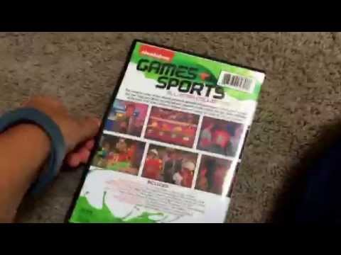 Nickelodeon sports dvd