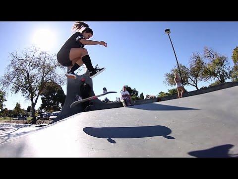 [SKATE] Kristin Ebeling in the Bay Area