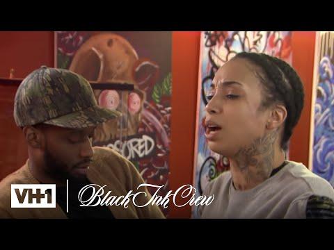 Sky & Rah Ali Get Into A Brawl | Black Ink Crew