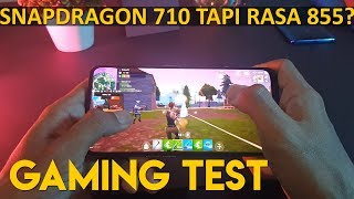 Gaming Test Realme X Pubg Mobile Fortnite ! FPS Battery Temperature