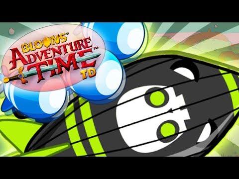 PIERWSZY Z.O.M.G. I DZIWNA GRUPA BALONÓW   #010   Bloons Adventure Time TD   PL