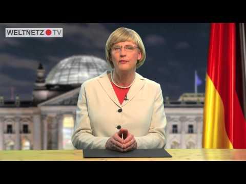 Political Correctness  total. Mit Angela Merkel.