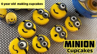 Minion Cupcakes kids cookingkids Birthday PartiesQuick &amp EasyRecipe by NS Cuisine