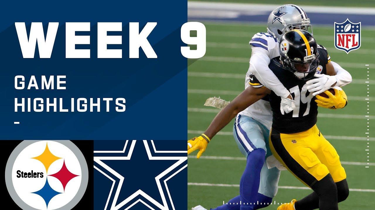 Download Steelers vs. Cowboys Week 9 Highlights   NFL 2020