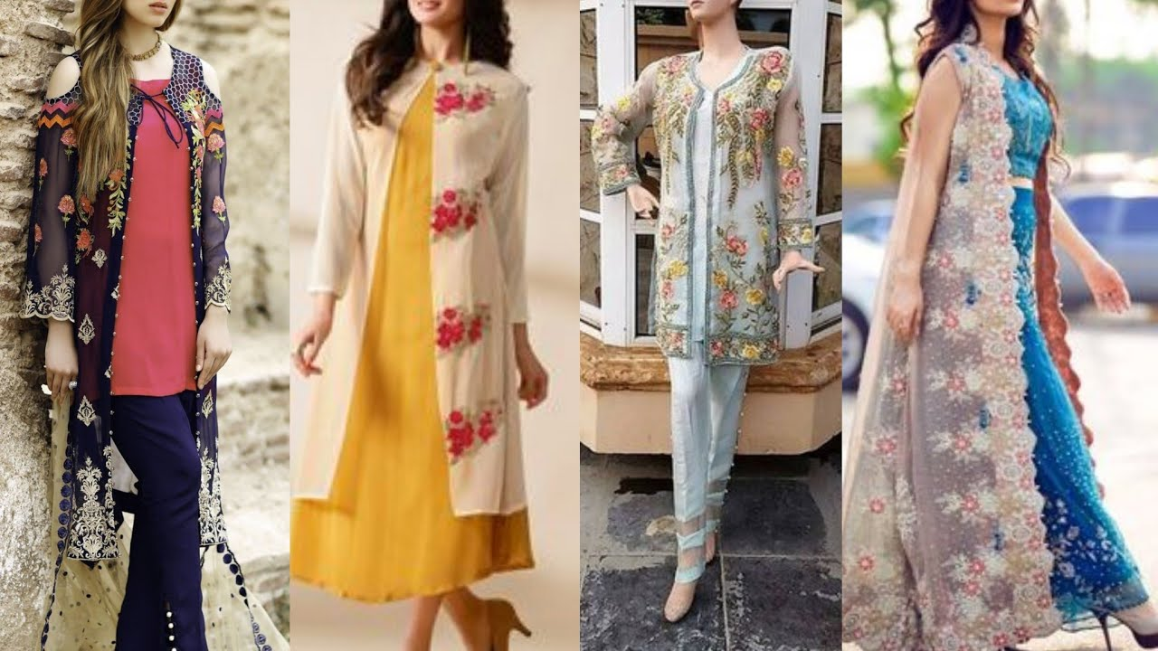 Women\u0027s Front Open Double shirt Dresses 2019/Gown Style Open Shirts