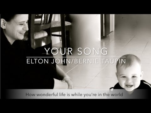 Your song/Elton John - Harp Cover, Vanessa McKeand Sundstrup - Harp