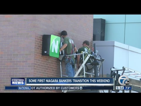 First Niagara to Northwest Bank transitions this weekend