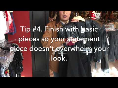How to Shop for a Monochromatic Outfit | Goldmine Vintage, Boulder, Colorado