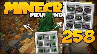 FARM DE DISCOS e FARM DE CABEÇAS FINALIZADA! // Meu Mundo #258 // Minecraft