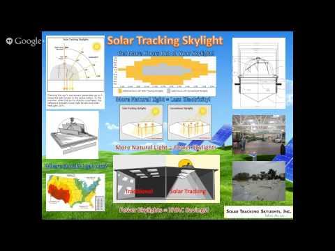 CEE 525 Trade Show Teaser Solar Tracking Skylight