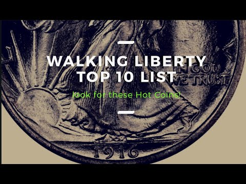 Top 10 Walking Liberty Half Dollars You Should Be Looking For!