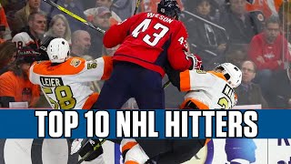 Top 10 NHL Hitters