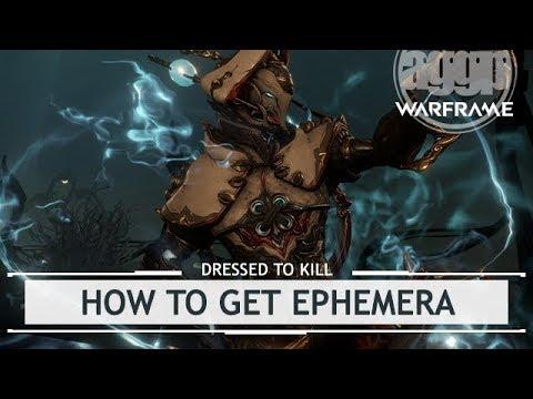 Warframe: How to Get Ephemera & Showcase (Shocking, Seeding, Smoking & Bloody) thumbnail