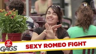 Sexy Romeo Fight Prank