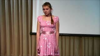 "Алена Агеенко — ""Волшебные краски"" Е. Пермяк"