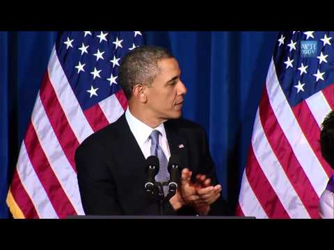 Biden & Obama Speak At Violence Against Women Act Signing- High Q - Full Video